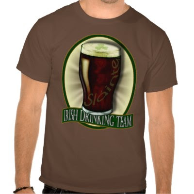 Irish Drinking Team - Funny St. Patricks Day T-Shirt