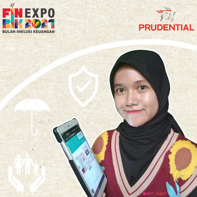 Pengalaman Mengunjungi Virtual Bazaar Prudential di FIN EXPO Bulan Inklusi Keuangan 2021