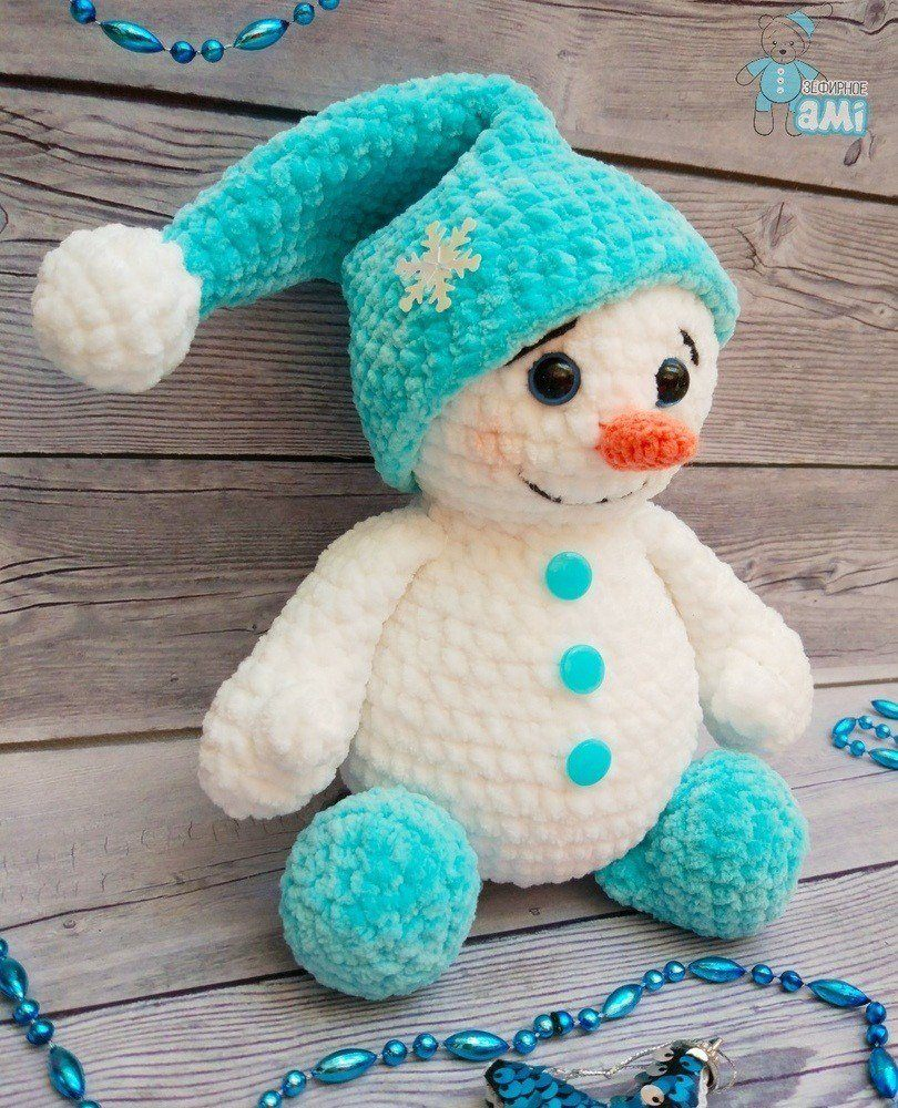 PATTERN Roly the Cuddle-Sized Snowman Amigurumi – Storyland Amis | 1000x810
