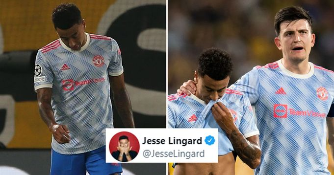 'I'm upset for my part in the defeat': Lingard breaks silence after Young Boys blunder