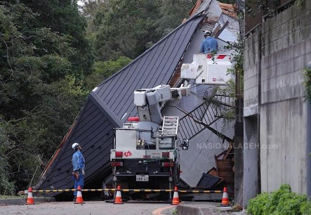 Banjir dan Longsor di Jepang, 10 Orang Tewas 3 Lainnya Hilang