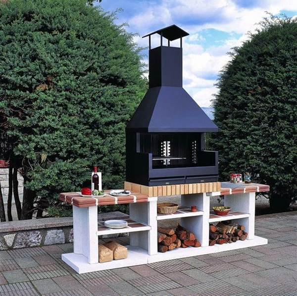 Grill Areas For Inspiration 9