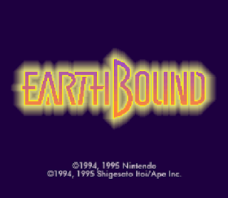 Earthbound - Pantalla título RPG
