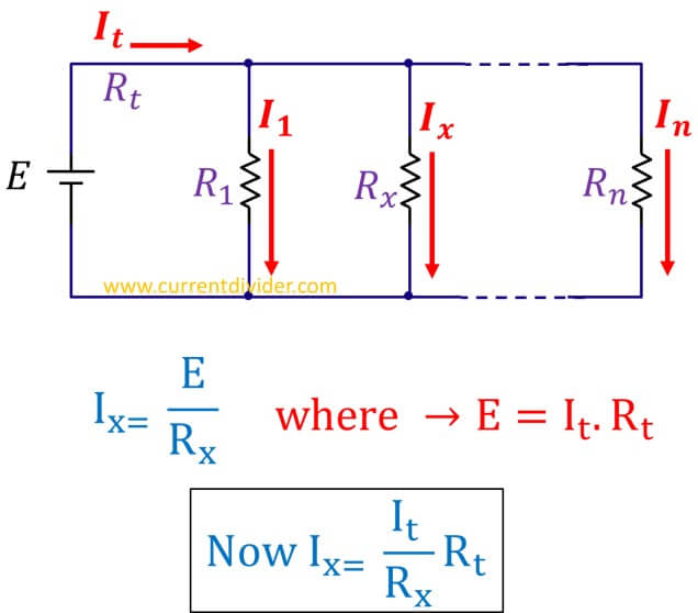 current-divider-rule-derivation
