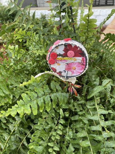 DIY Garden Décor and DIY Garden Label