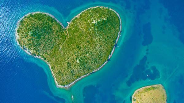 جزيرة القلب كرواتيا