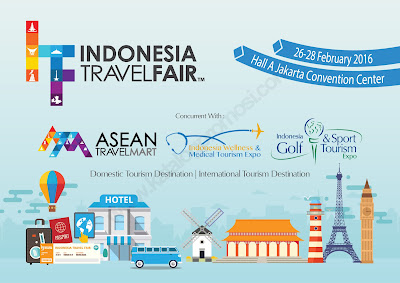 Jadwal Indonesia Travel Fair 2016