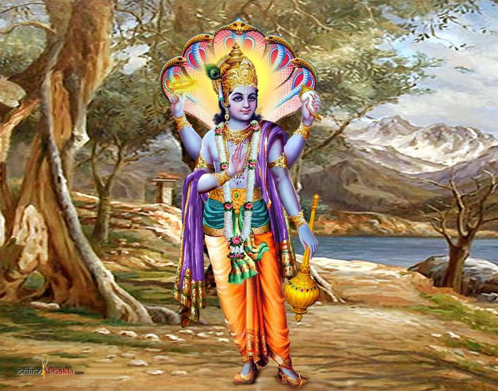 Are you ready to update your walls? Lord Vishnu Qayamati Beautiful Sundar Images | God Wallpaper