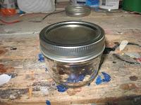 Small mason jar