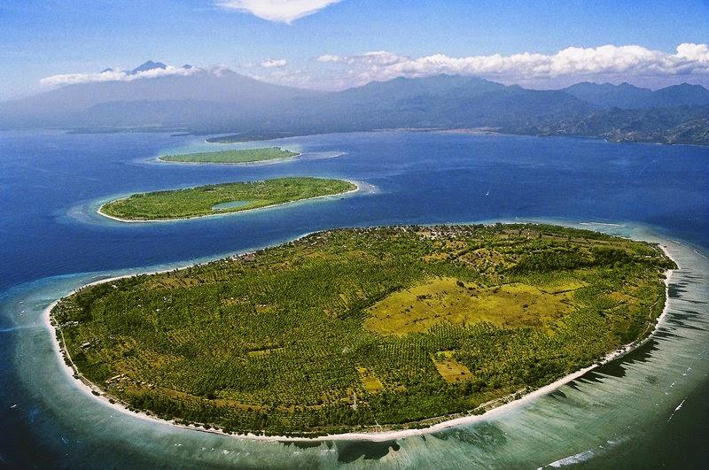 Gili Trawangan, Gili Meno dan Gili Air Lombok