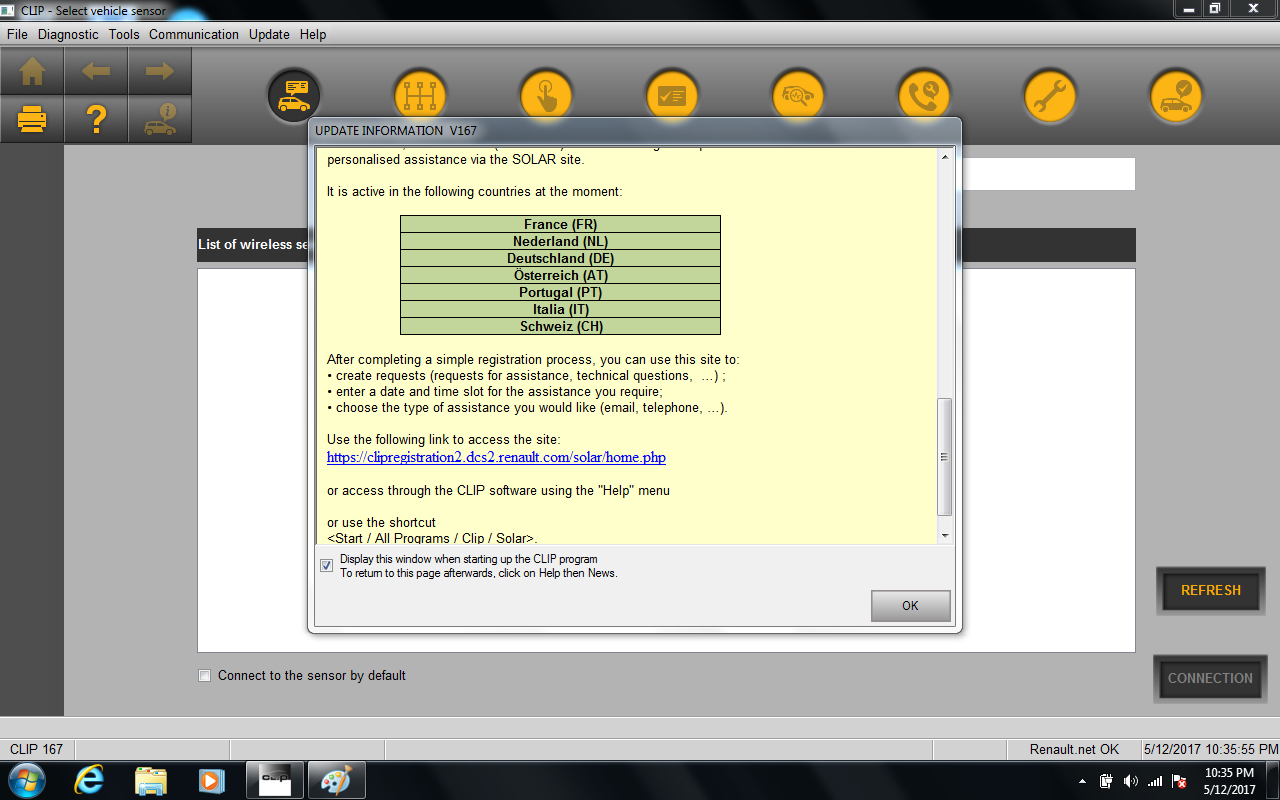 Renault can clip drivers windows 7 64 bit