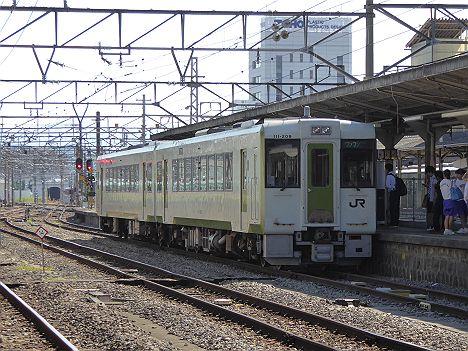 八高線 ワンマン列車 キハ110形