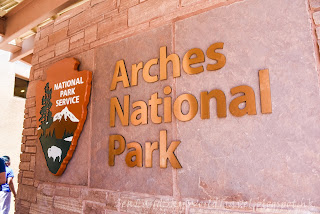 拱門國家公園 Arches National Park, 訪客中心, visitor center