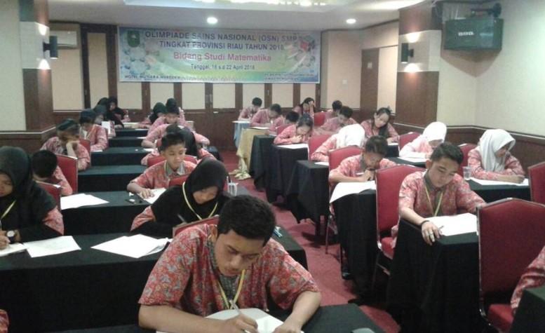 Peserta OSP SMP 2018 Provinsi Riau