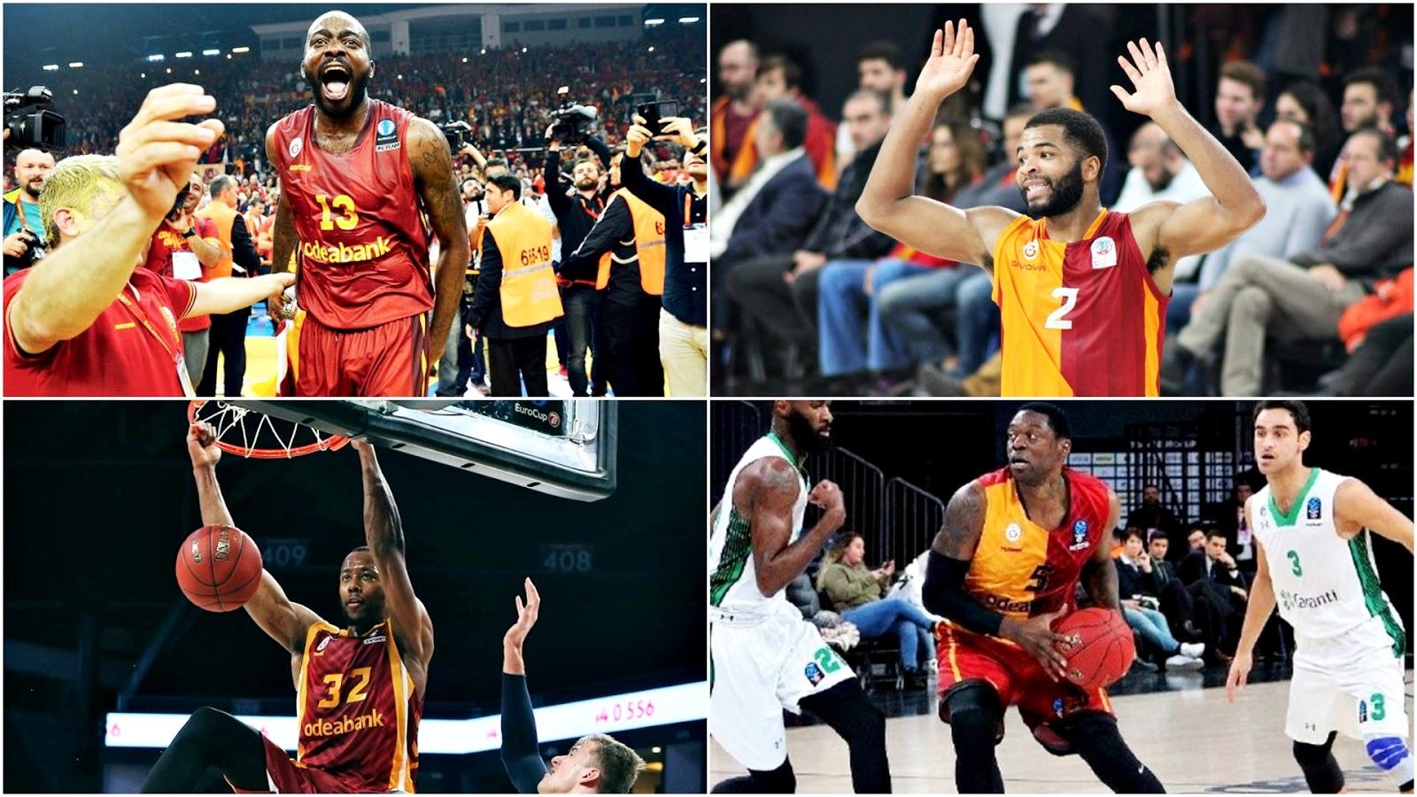 Galatasaray'da oynamış NBA patentli oyuncular - 3