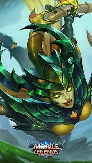 Karrie Bladed Mantis Heroes Marksman of Skins V1