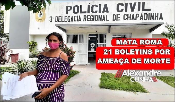 MULHER GRÁVIDA AMEAÇADA POR EDUCADORA DE MATA ROMA REGISTRA O 21º BOLETIM, E PEDE POR JUSTIÇA; VEJA O VÍDEO.