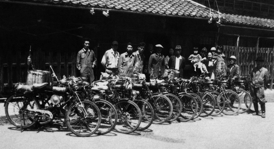 Honda Hamamatsu factory 1948
