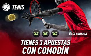 sportium Tenis: 3 Apuestas con Comodín hasta 8 diciembre 2019