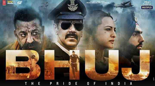 Bhuj: The Pride of India, Bhuj movie poster,