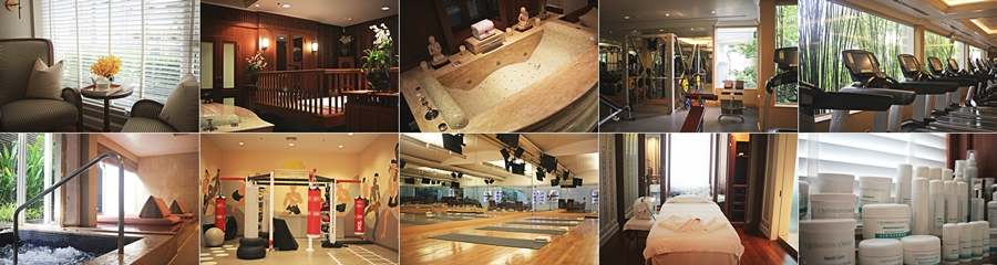 gym spa fitness high end