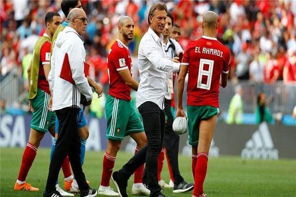 تصدر  المغرب المجموعة الرابعة بعدما حقق الانتصار الثالث  على حساب جنوب افريقيا 1-0 .
