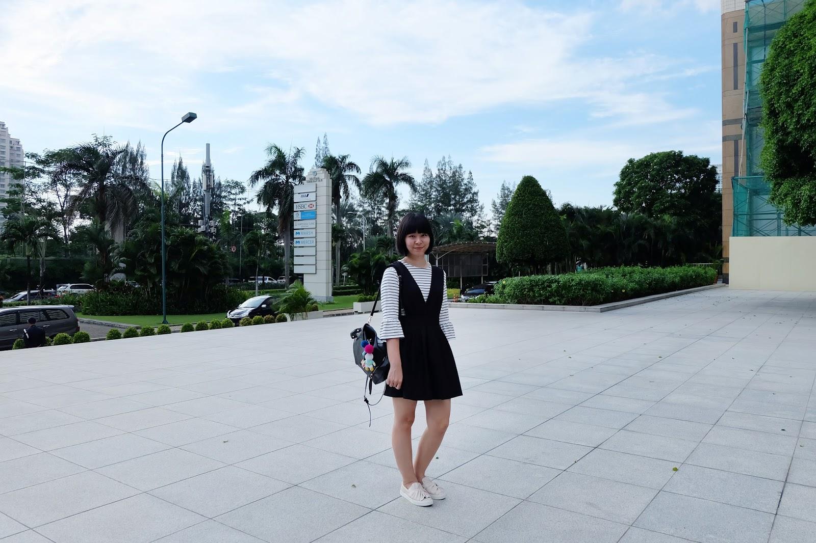 stripes bell sleeves outfit | bigdreamerblog.com