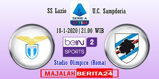 Prediksi Lazio vs Sampdoria — 18 Januari 2020