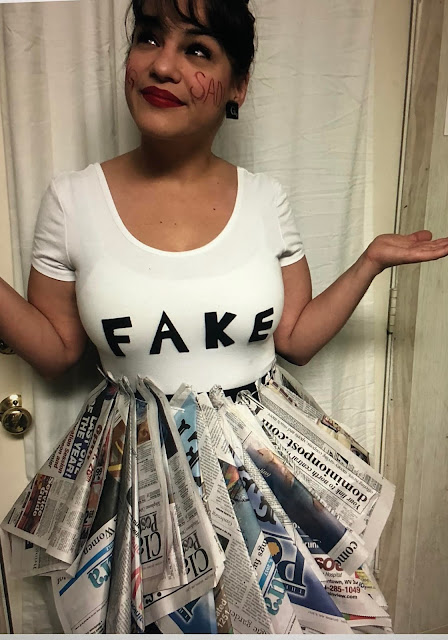 Best Fake News Homemade Halloween Costume