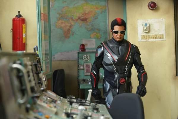 Robot 2.0 Movie Still Rajinikanth
