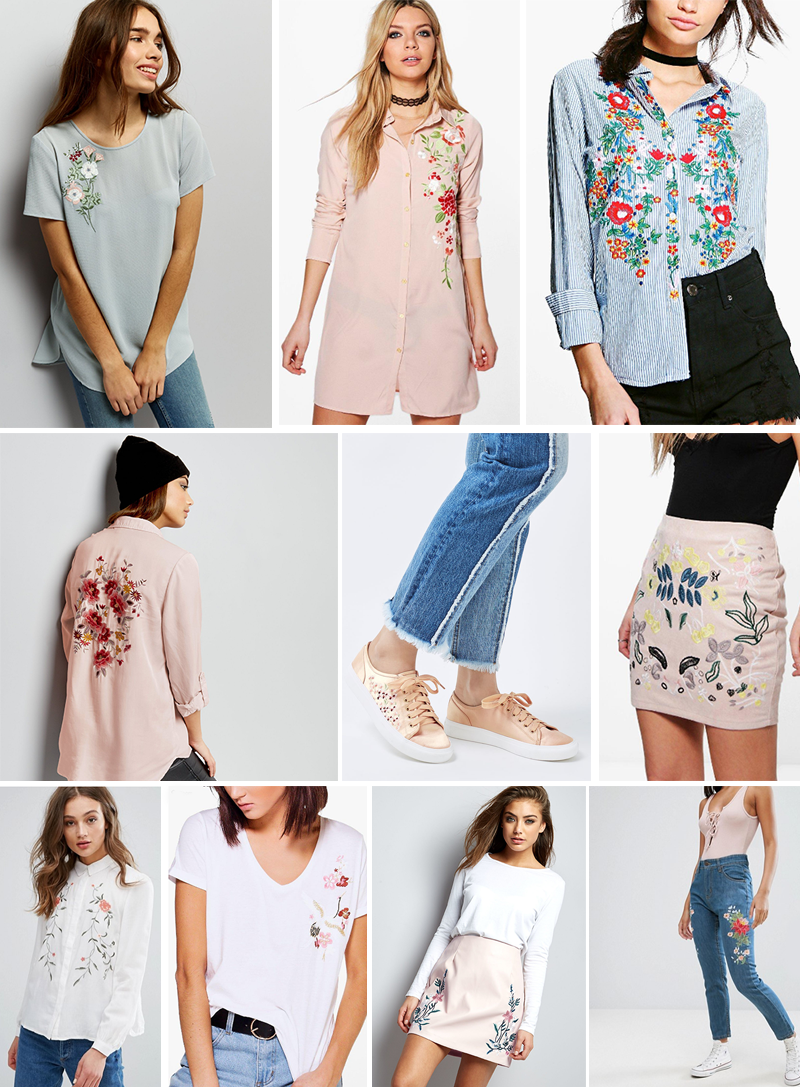 Must Have Embroidered Trend Pieces Under 35 High Street Fashion | Colours and Carousels - Scottish Lifestyle, Beauty and Fashion blog