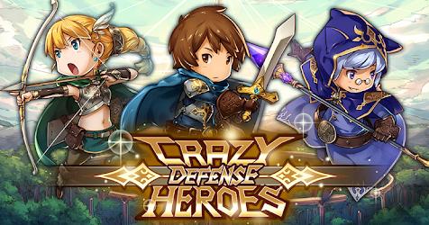 Crazy Defense Heroes: Tower Defense Strategy TD v1.5.1 MOD [2 VER] [Update]