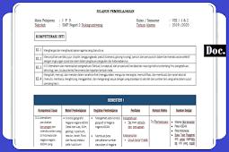 Silabus [IPS] Kelas [VIII/8] SMP/MTs K13 Revisi Terbaru Semester 1 dan 2