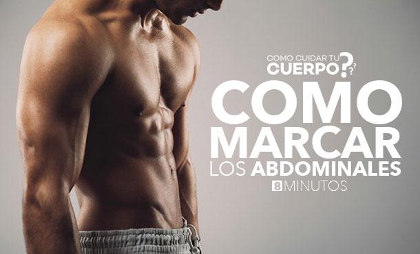 como marcar los abdominales