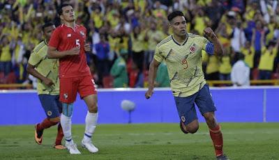 Colombia vs panamá 3-0 amistoso