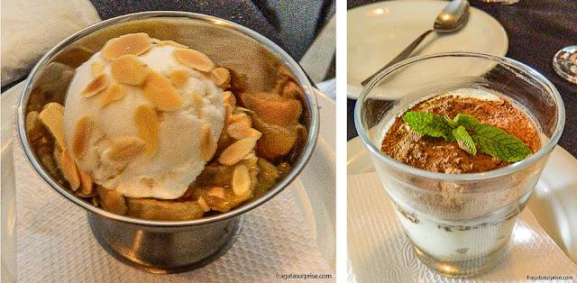 Sobremesas do Restaurante La Pasta Gialla  - Salvador - Bahia