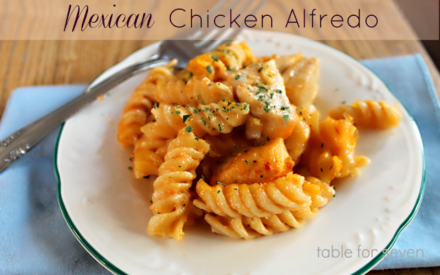 Mexican Chicken Alfredo