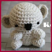 Bebé koala amigurumi