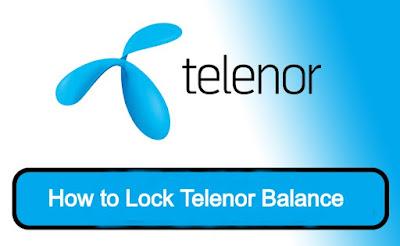 Telenor Balance Lock Code - Telenor balance save code