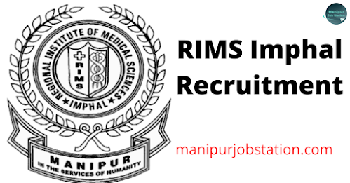 RIMS Imphal Walk-in-Interview