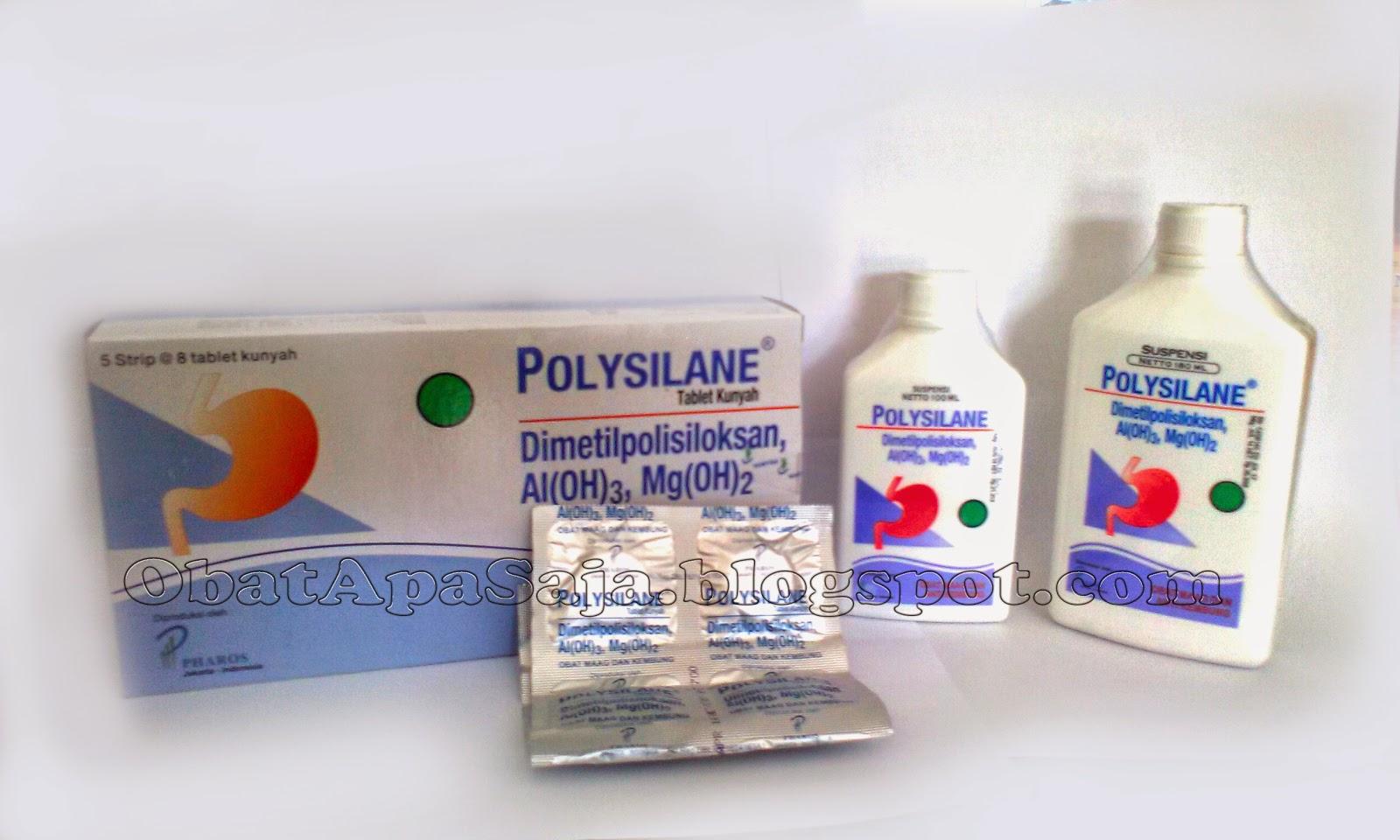 polysilane obat maag dan anti kembung