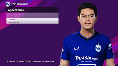 PES 2021 Faces Pratama Arhan by SR
