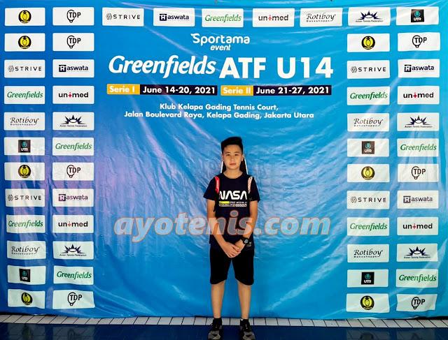 Troy Elmer Hariyanto Melaju ke Babak Utama Greenfields ATF 14U by SPORTAMA Seri 2