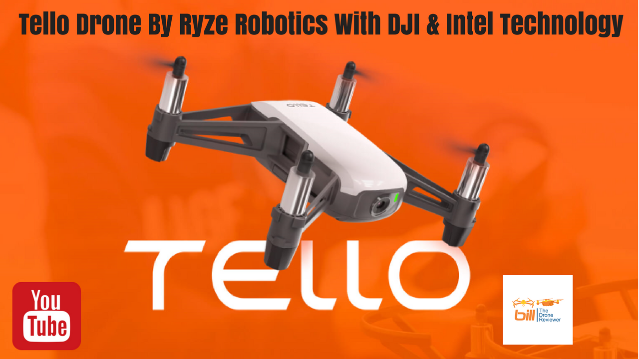 drone dji ryze tello  | 1280 x 720