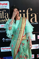 Samantha Ruth Prabhu Smiling Beauty in strange Designer Saree at IIFA Utsavam Awards 2017  Day 2  Exclusive 23.JPG