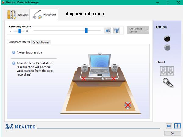 Dowload Realtek High Definition Audio Driver cho win 7