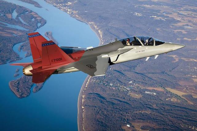 Saab Boeing T7A flight test