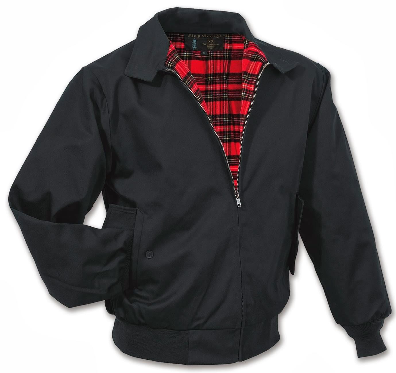 Jaket yang disebut tipe Harrington merupakan jaket dengan bahan sepinggang d140fec77d