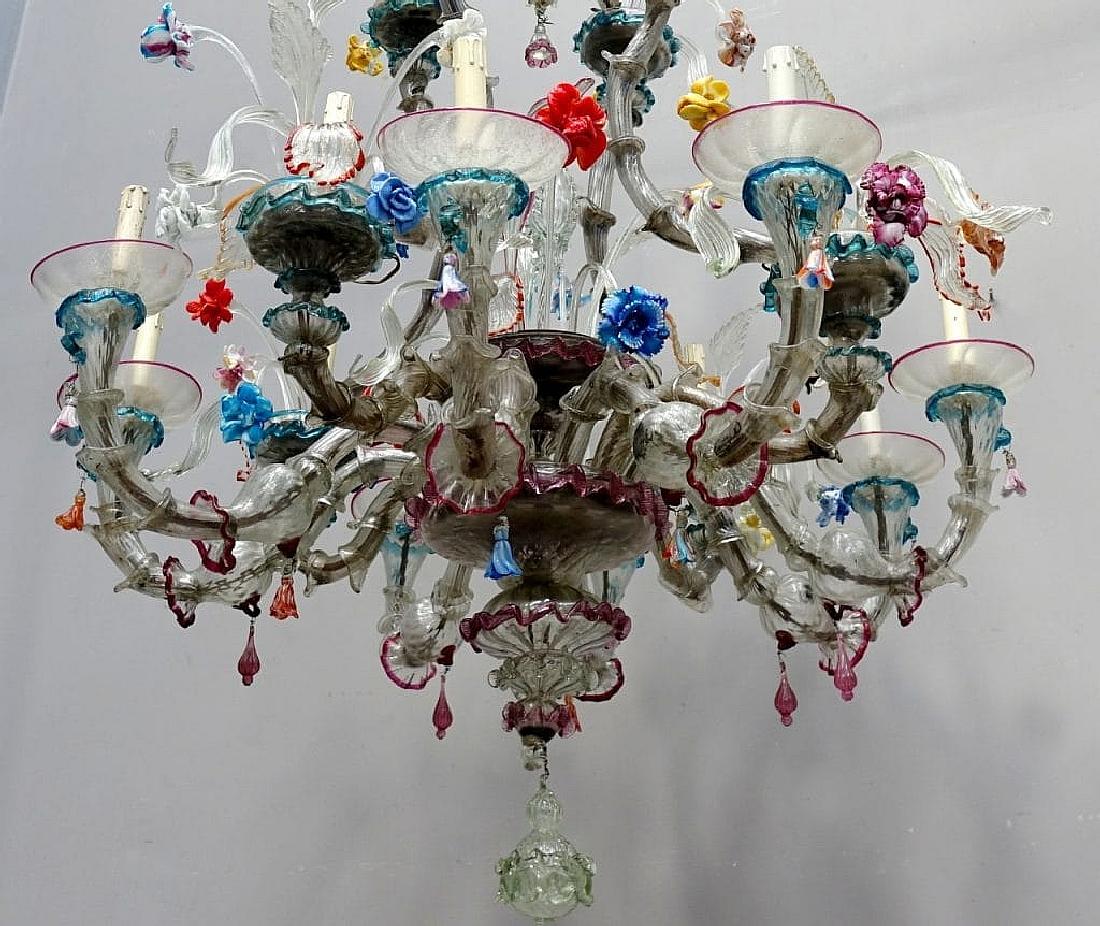 È un classico del vetro di murano,. Lampadario Di Murano Ca Rezzonico Ca Rezzonico Lampadari In Vetro Di Murano