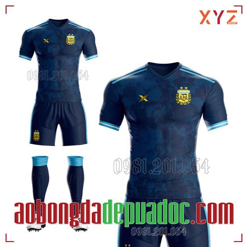 Áo Argentina 2020 Sân Khách Màu Rằn Ri Đẹp Và Độc